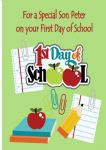 First Day at School Card Design 4